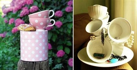 Tea Cup Decorations by 20 Inspiring Ideas Of How To Reuse Teacups And Teapots
