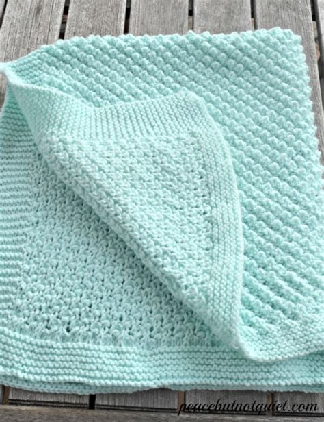 how to knit a baby blanket easy pattern easy knitting patterns