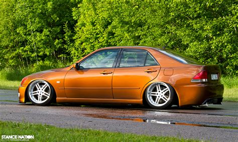 lexus is300 slammed lexus is300 stance stanced slammed issx s14