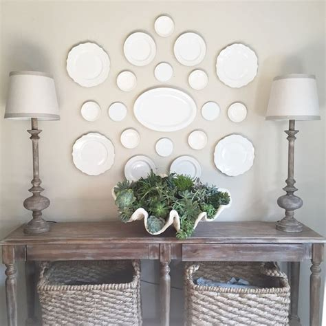 Dining Room Plates by Best 25 Plate Wall Ideas On Plates On Wall