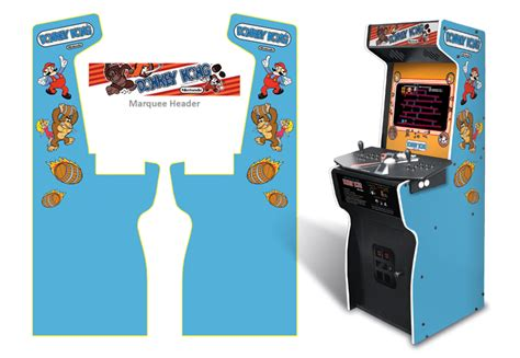 full size arcade cabinet plans donkey kong cabinet monitor size www redglobalmx org