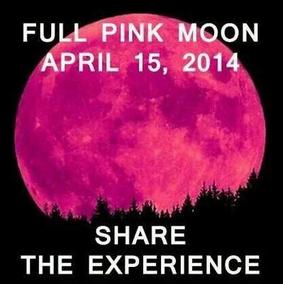 what is a pink moon green moon snopes