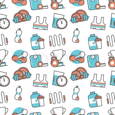 pattern background flat vector modern seamless pattern texture background of flat