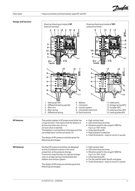 danfoss pressure switch wiring diagram wiring diagram