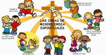 Imagenes Obras De Misericordia Espirituales | dibujos para catequesis las obras de misericordia