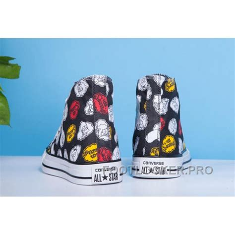Harga Converse X The Simpsons black high tops converse x the simpsons chuck all