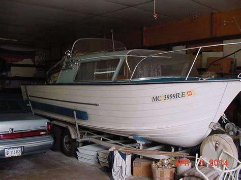 1963 starcraft aluminum boat classic 21 boat 1963 starcraft chieftain cabin cruiser