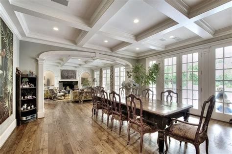 dining room coffered ceiling beautiful dining rooms with coffered ceilings