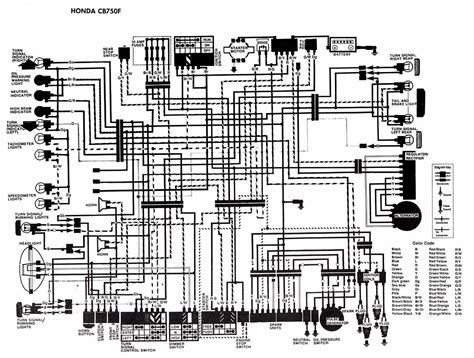 honda motosiklet cbf kablolama semasi elektronikdevreler