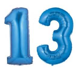 Animal Print Shower Curtains - blue number 13 balloon large number 13 balloon blue
