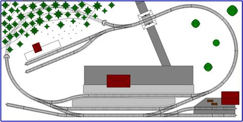ultra small     scale track plan