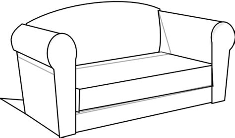couch svg couch clipart black and white clipart panda free