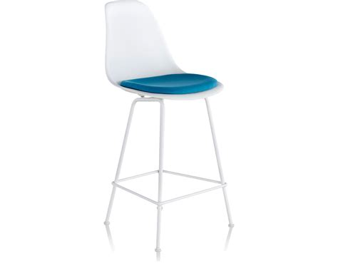 Eames Molded Plastic Stool by Eames 174 Molded Plastic Stool With Seat Pad Hivemodern