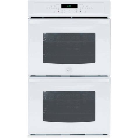 Kmart Furniture Kitchen kenmore 27 quot self clean double electric wall oven white