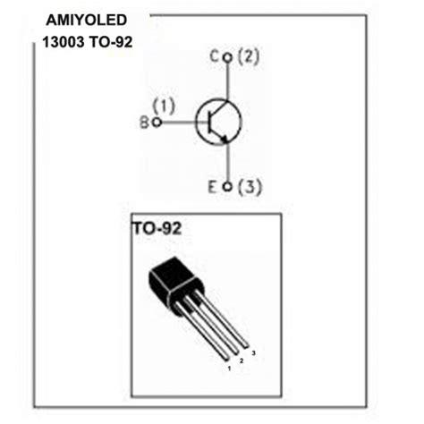 Transistor Mje13003 1 mje13003 1 5a 1 5 400v npn power transistor to 92