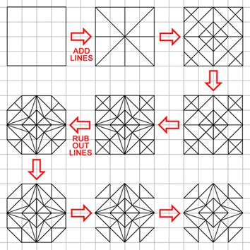 islamic pattern grid hgfl maths numeracy