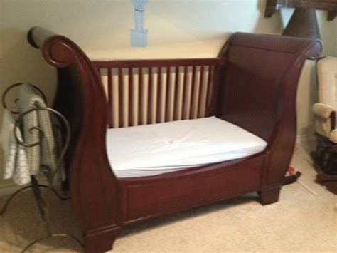 pottery barn sleigh crib conversion kit for sale