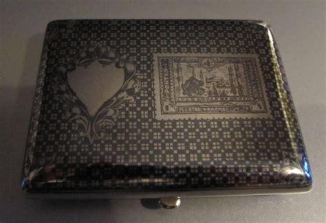 Postes Ottomanes by Ottoman Silver Cigarette With Ni 235 Llo Decoration