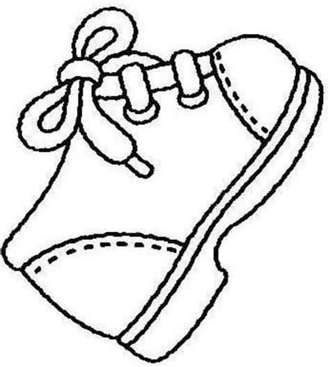 imagenes de zapatos infantiles para colorear dibujos de zapatos para pintar