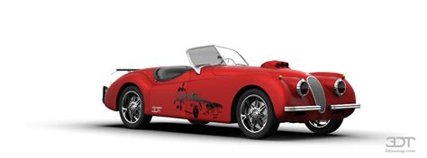 3dtuning of jaguar xk120 convertible 1954 3dtuning unique on line car configurator for