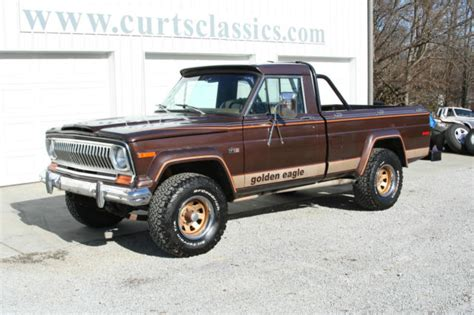 jeep golden eagle for sale 1978 jeep j10 golden eagle pickup