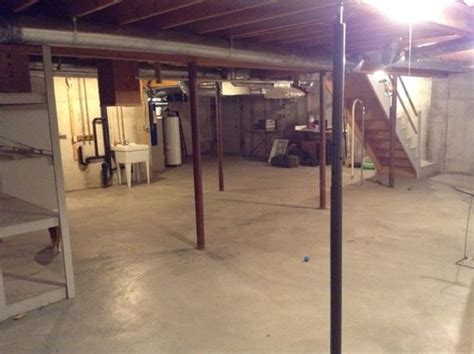 Help Make An Unfinished Basement Usable What To Do With An Unfinished Basement
