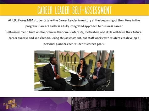 Lsus Mba Graduate Salary by Lsu Flores Mba Program Career Services
