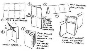 How To Fold A3 Paper Into A Booklet - books gemsjots