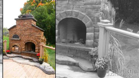 Fireplace Kitchener Waterloo by Outdoor Garden Fireplaces Brick Garden Firepits