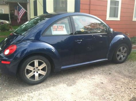 navy blue volkswagen beetle find used 2006 new beetle tdi navy blue in adrian
