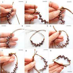 membuat gelang kain tutorial cara membuat gelang dari tali dan manik diy