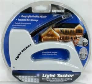 light tacker stapler gun christmas wire light staple ebay