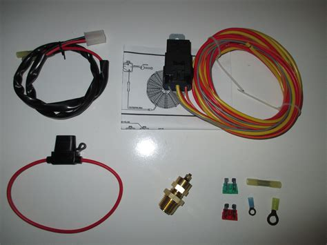 electric fan wiring harness kits get free image about