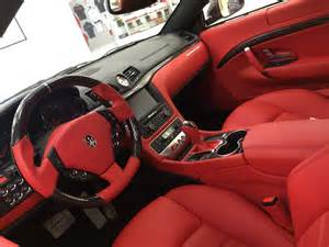 Maserati Interior Parts White Maserati Granturismo Interior Search