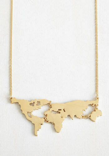 World Map Statement Necklace 25 best ideas about statement necklace gold on