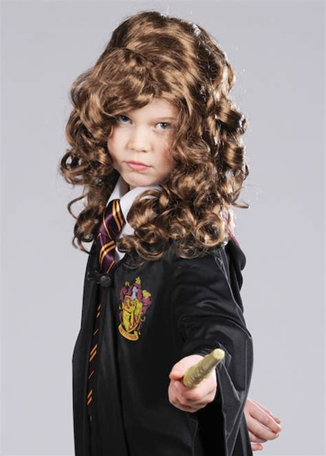 Hermione Granger Description by Hermione Granger Style Brown Curly Wig Ebay