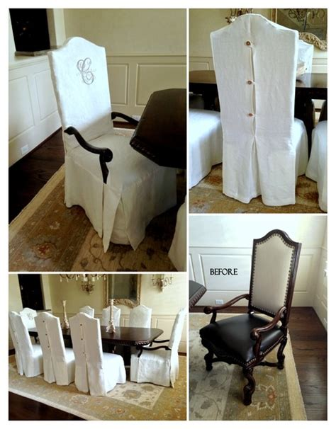 Houzz Dining Room Chair Covers Dining Chair Slipcovers Traditional Other Metro By