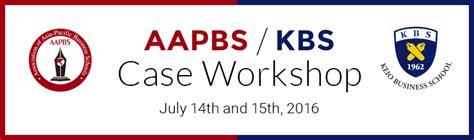 Keio Mba Ranking by Aapbs Keio Business School Workshop 2016 Kbs Keio