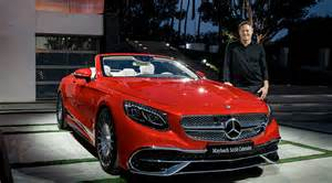 Mercedes Cars Pictures The New Mercedes Maybach S 650 Cabriolet