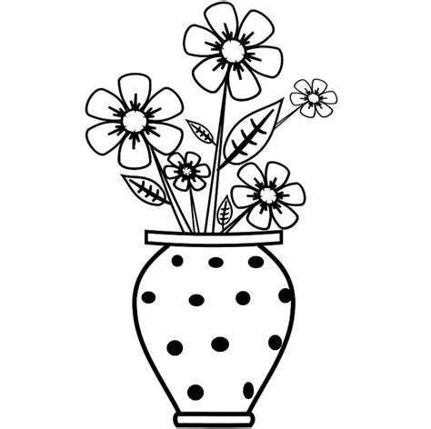 Drawing Picture Flower Vase by Colour Drawing Free Wallpaper Flowers Vase Coloring Drawing Free Wallpaper