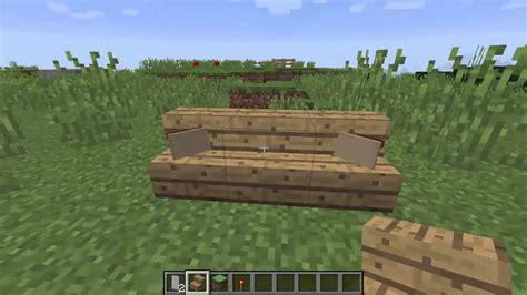how do you make a couch on minecraft how to make a couch with pillows in minecraft youtube