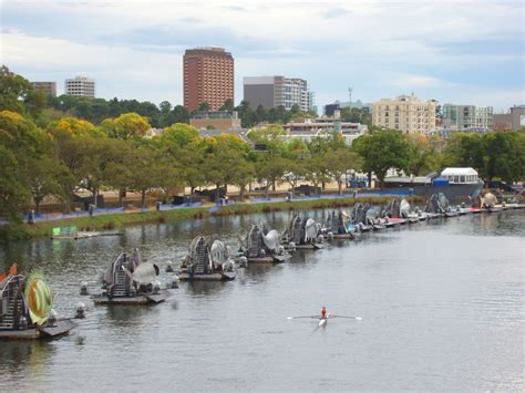 free boats melbourne free stock photo of boats on parade at yarra river in