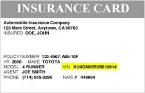 how to make car insurance cards toyotacare no cost maintenance plan roadside assistance