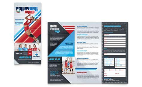 sports c brochure template c brochure template design
