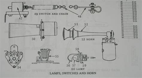 antique horn wiring diagram jeffdoedesign