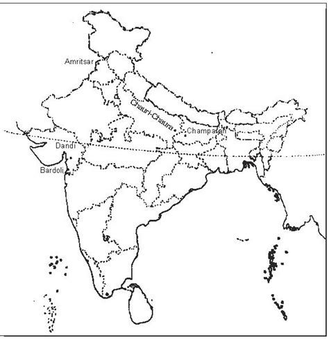 Outline History Of Indian by Locate Chauri Chaura On Indian Map 7227947 Meritnation