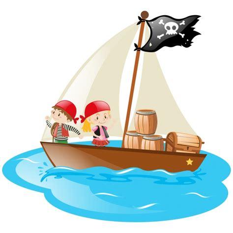 barco pirata ni 241 os en un barco pirata descargar vectores gratis