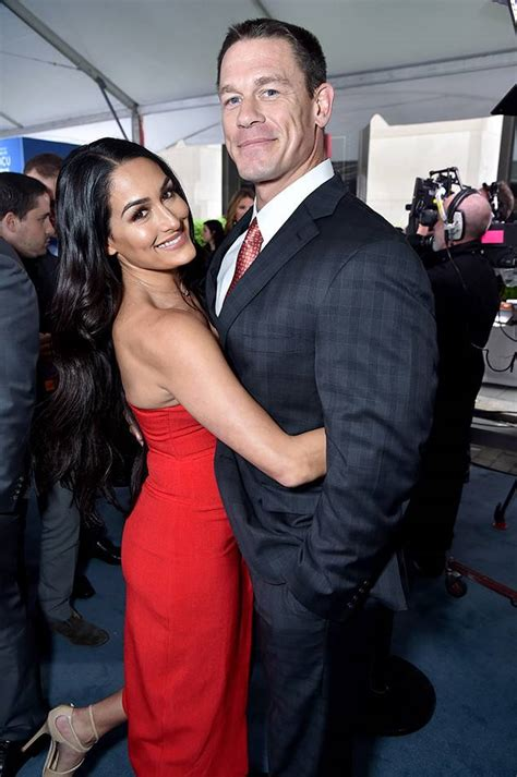nikki bella and john john cena and nikki bella s unexpected split how their