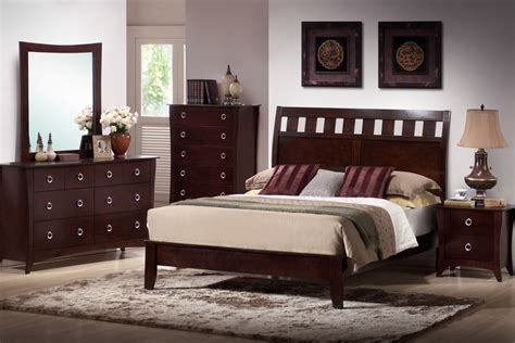 bedroom furniture cherry wood rooms