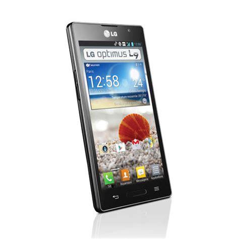 mobile l9 lg optimus l9 noir mobile smartphone lg sur ldlc
